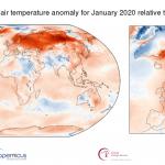 Januar 2020. godine ‒ najtopliji januar