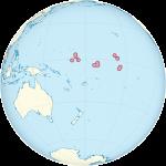 Кирибати ‒ једина држава која се налази на све четири хемисфере