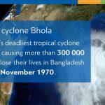 50 година од најсмртоноснијег забиљеженог тропског циклона Бхола